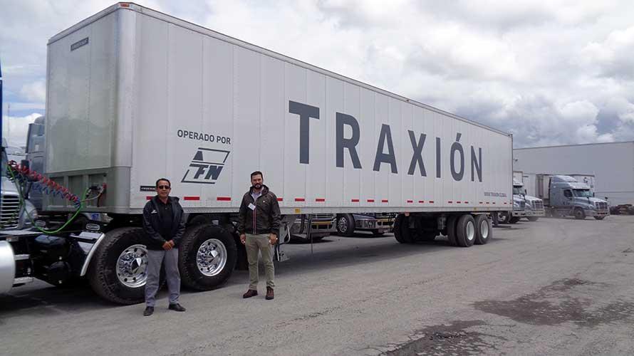 60 cajas secas Fruehauf para AFN de Grupo Traxión
