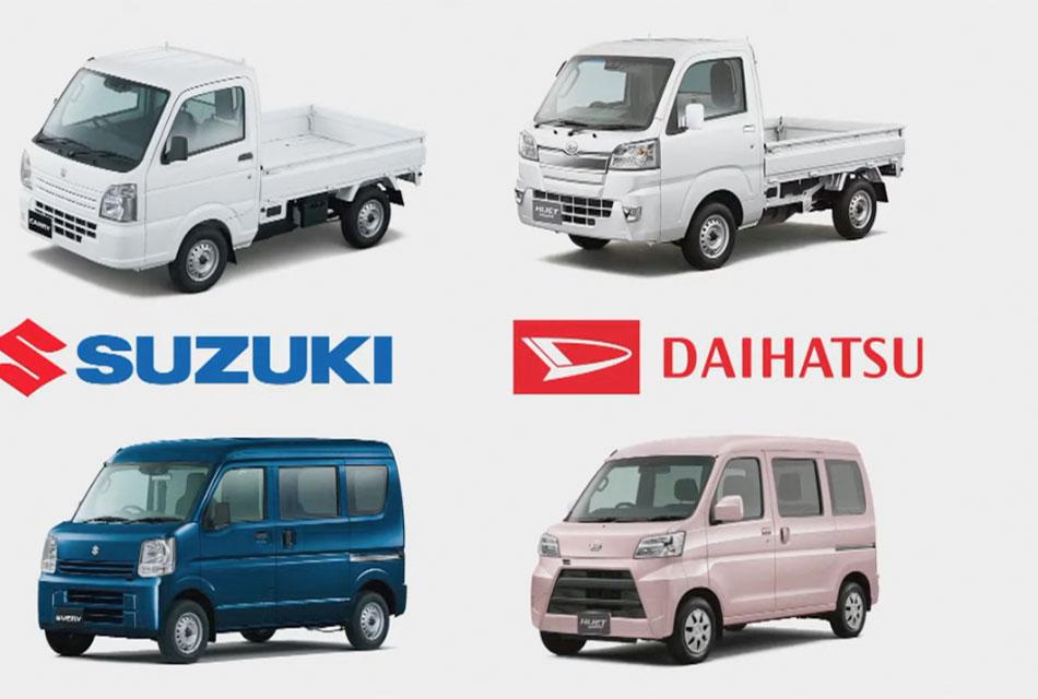 Suzuki y Daihatsu se unen al Commercial Japan Partnership