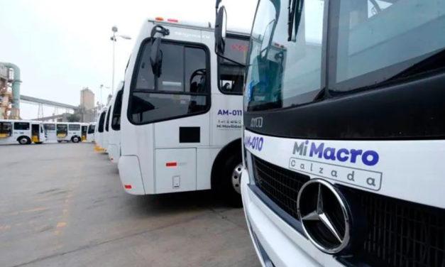 Mi Macro Calzada tiene 82 nuevos autobuses
