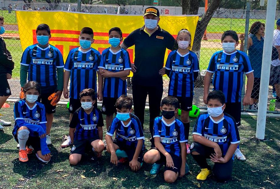 Pirelli acerca el deporte a niños de Silao