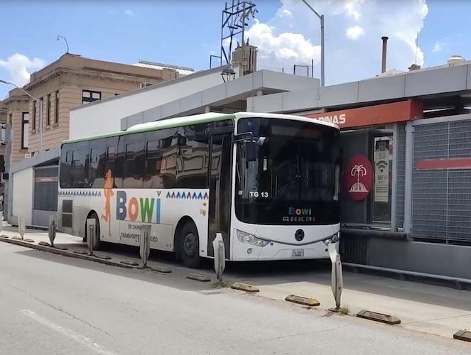 Transporte Ecológico Bowí mejora con unidades GNC
