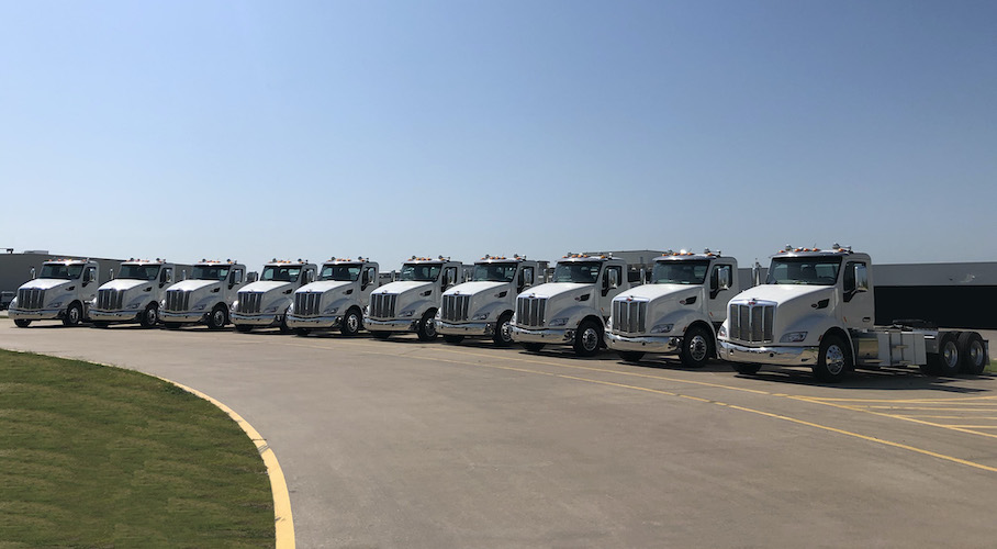 10 eléctricos Peterbilt para Shippers Transport Express