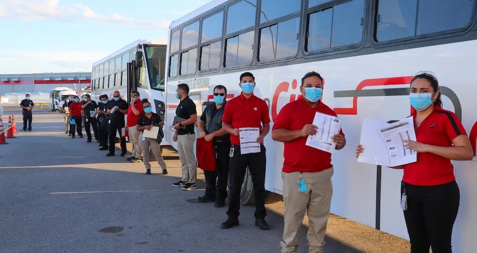Cummins Juárez ha vacunado al 95% de empleados