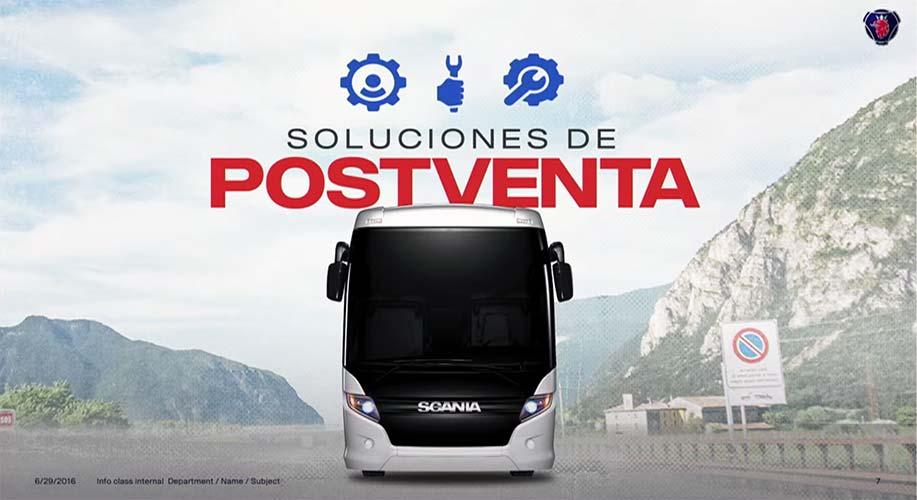 El valor de la postventa para autobuses Scania