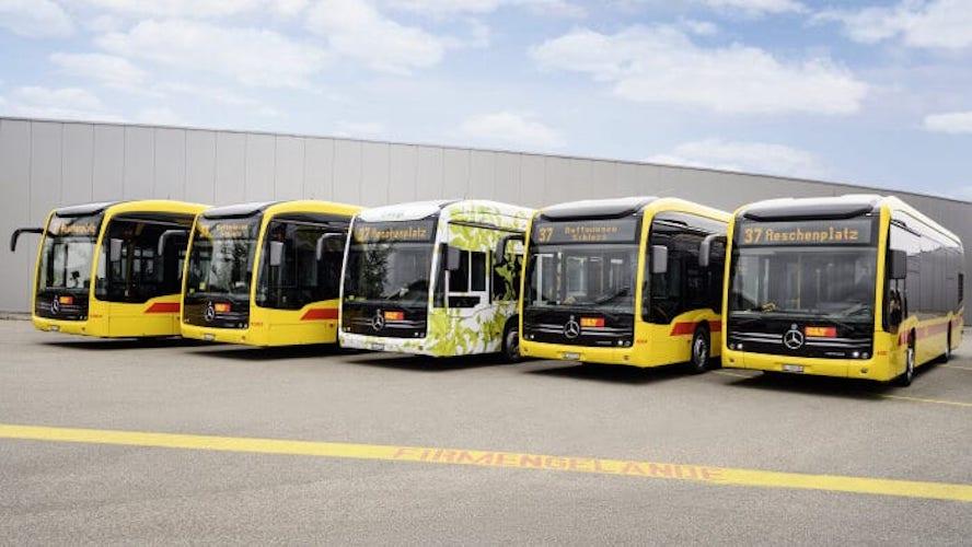 En la movilidad mundial Autobuses Mercedes-Benz