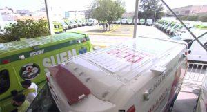 Estado de México - 80 ambulancias