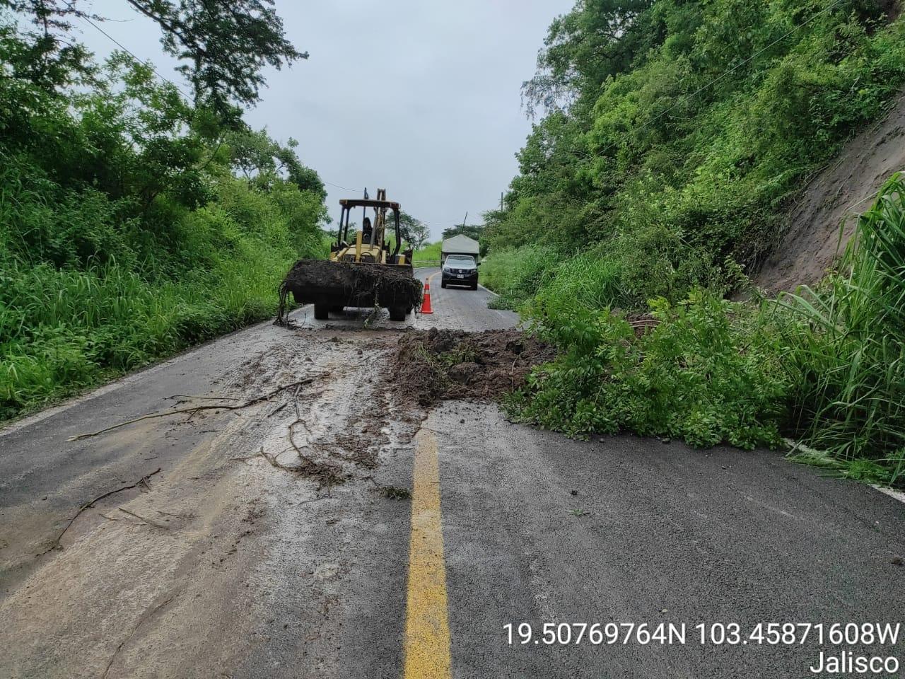 SCT - carreteras afectadas por Nora