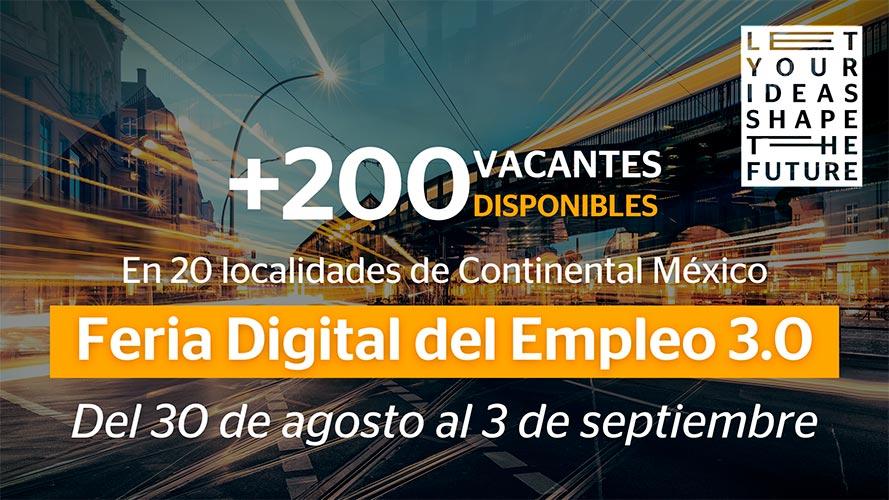 Feria Digital de Empleo de Continental