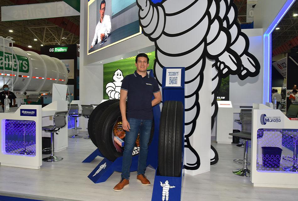 Lanzamientos Michelin en Expo Proveedores 2021