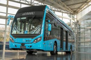 MB-eléctrico bus