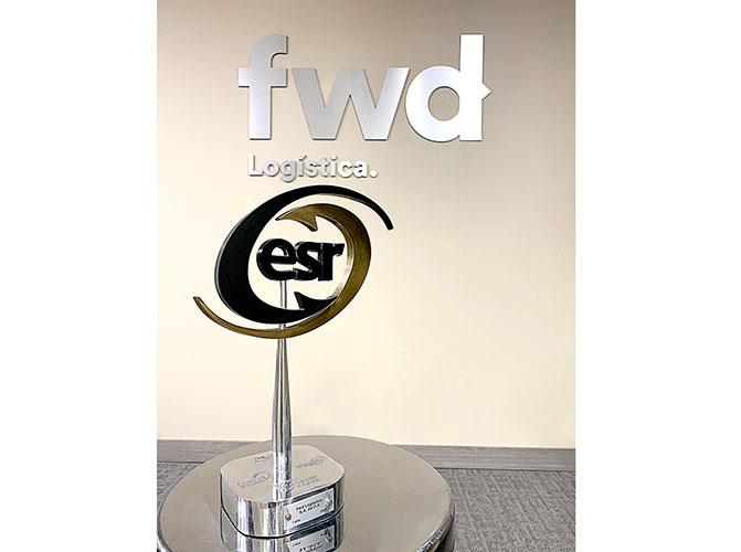 Segundo distintivo ESR para Fwd Logística