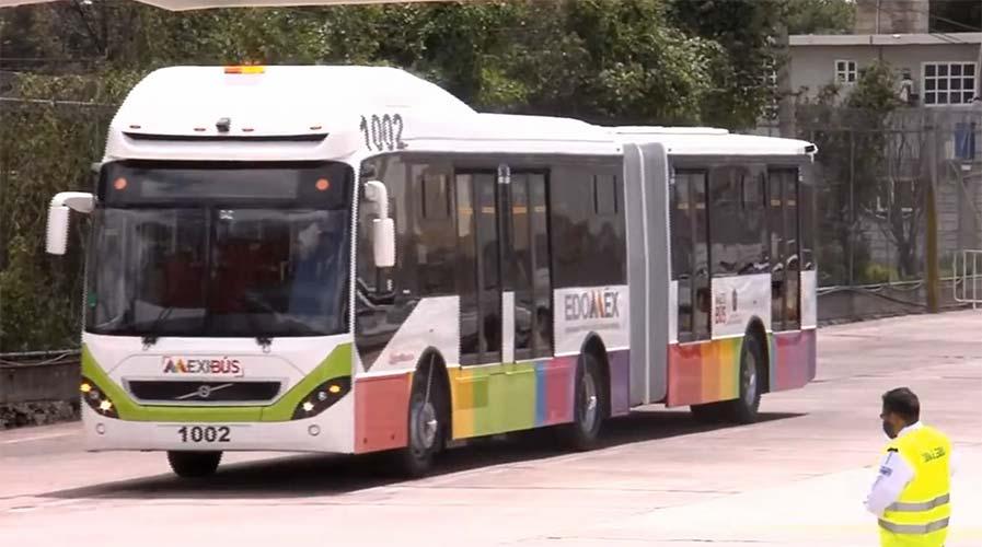 Sistema Mexibús añade 12 buses Volvo articulados