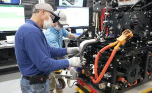 Toyota -celdas de combustible para camiones