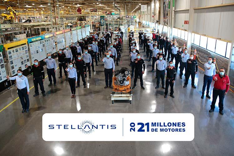 21 millones de motores en plantas Stellantis México