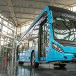 Chasis de bus totalmente eléctrico de Mercedes-Benz
