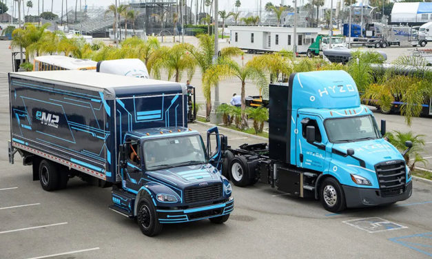 Freightliner Trucks en ACT Expo con eléctricos