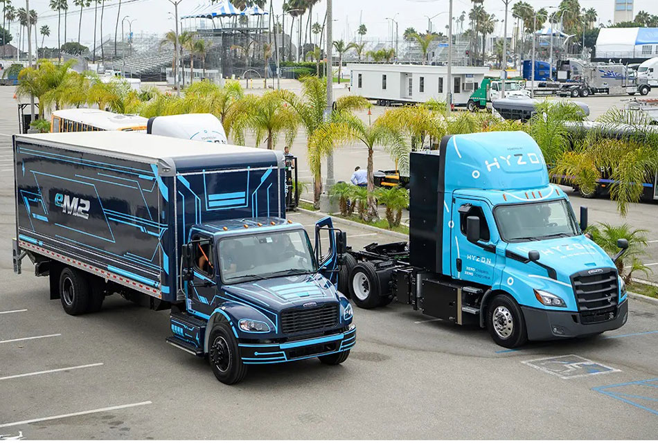 Avances de Freightliner Trucks en camiones eléctricos