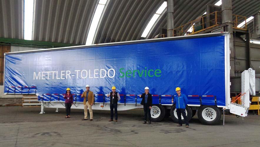 Mettler Toledo recibe equipo especializado Fruehauf