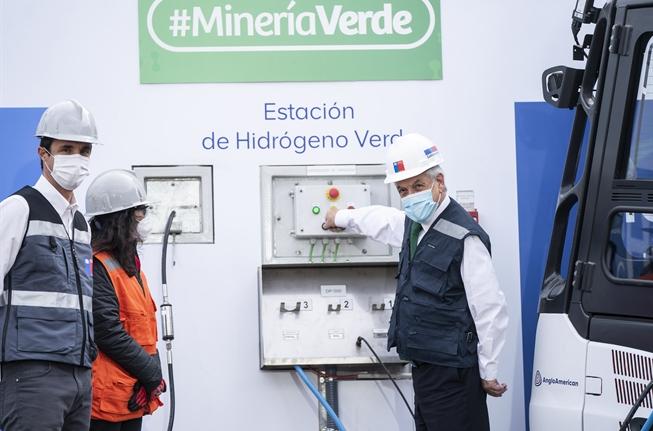 Primera estación de hidrógeno verde en Chile