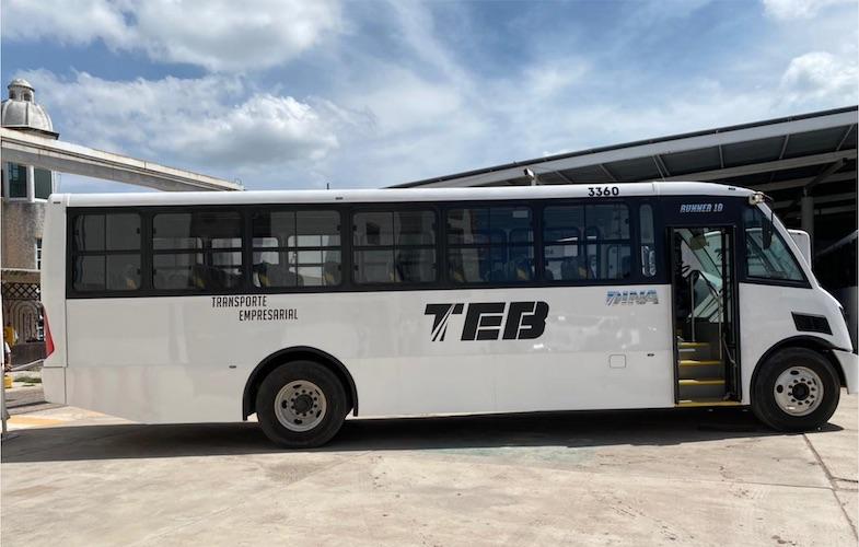 TEB aumenta su flota con 4 DINA Runner