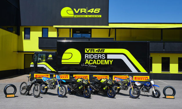 VR46 Riders Academy elige a Pirelli como socio