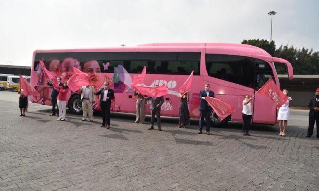 Caravana Rosa de Mobility ADO cumple 10 años