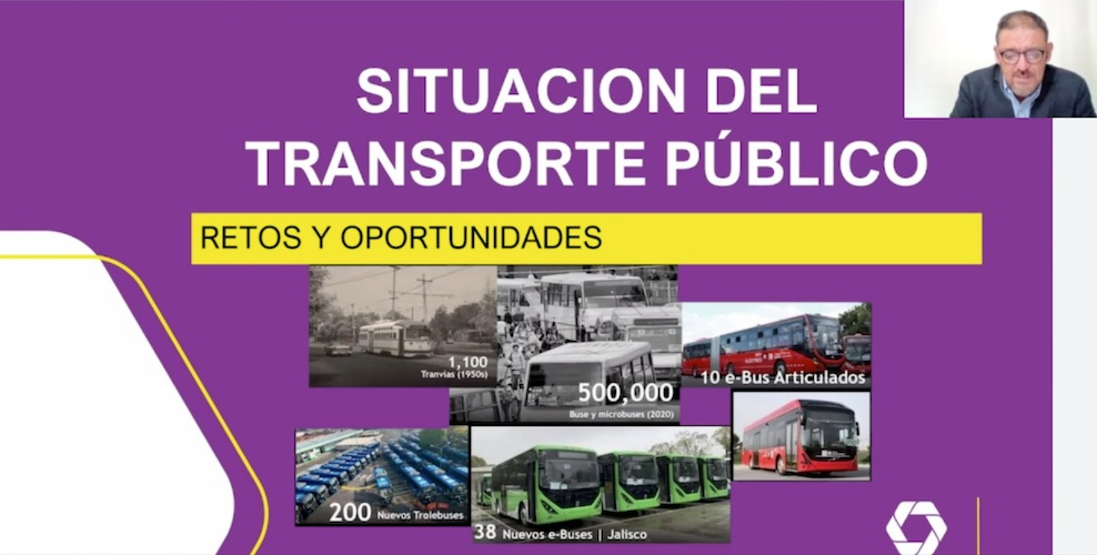 Evolucionar máximo reto del transporte de pasajeros