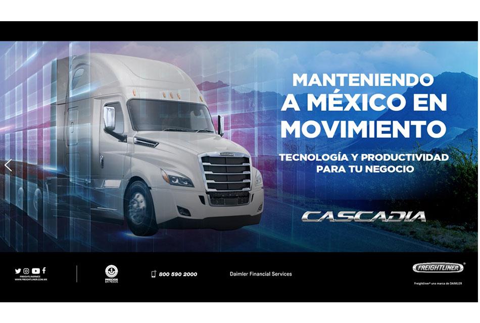 La gama Freightliner en el Encuentro Virtual ANPACT