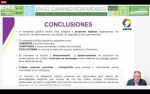 conclusiones amtm