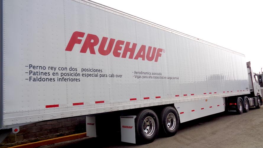 equipos especializados Fruehauf y Scania